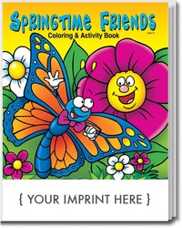 COLORING BOOK - Springtime Friends Coloring & Activity Book