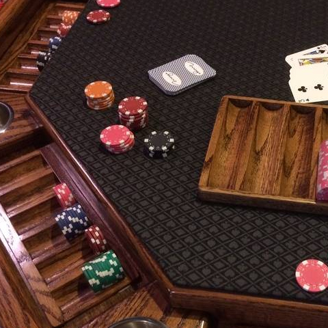 Octogon Poker Table Lost Mill Woodworking