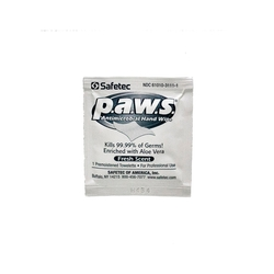 P.A.W.S. Antimicrovial Hand Wipe