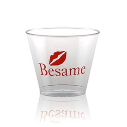 5 oz Clear Hard Plastic Rocks Cup -Tradition