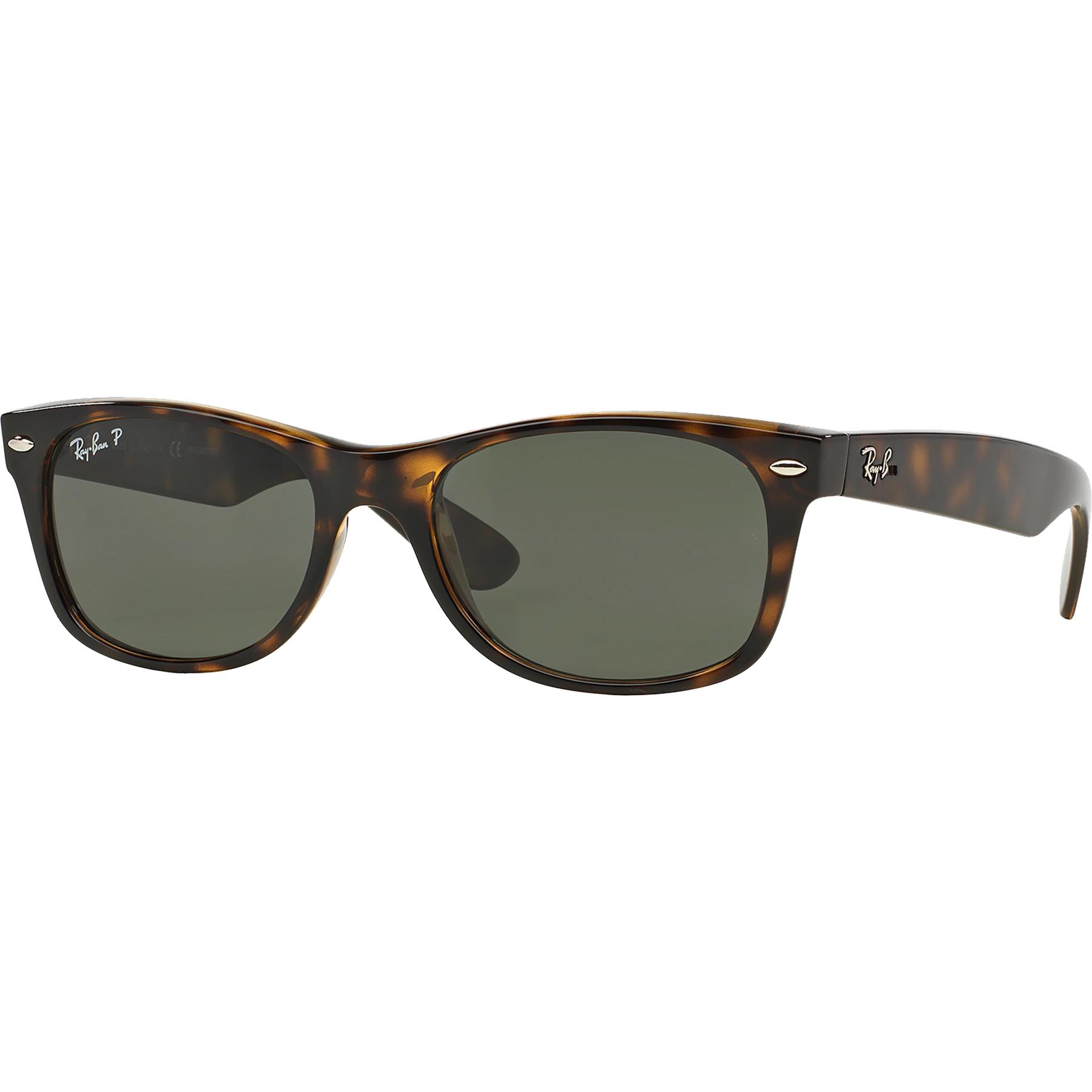 705aebc5a0ef4 Ray-Ban Polarized New Wayfarer Sunglasses - Tortoise Green ...