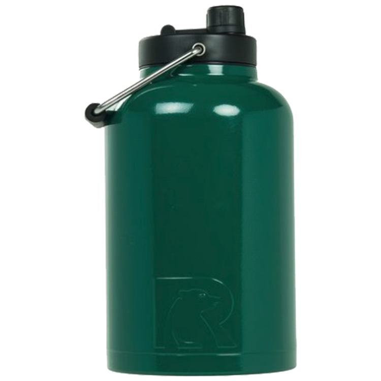 9ffc85b3ed RTIC One Gallon Forest Green Stainless Steel Jug. # RS-ONEGFG-DC
