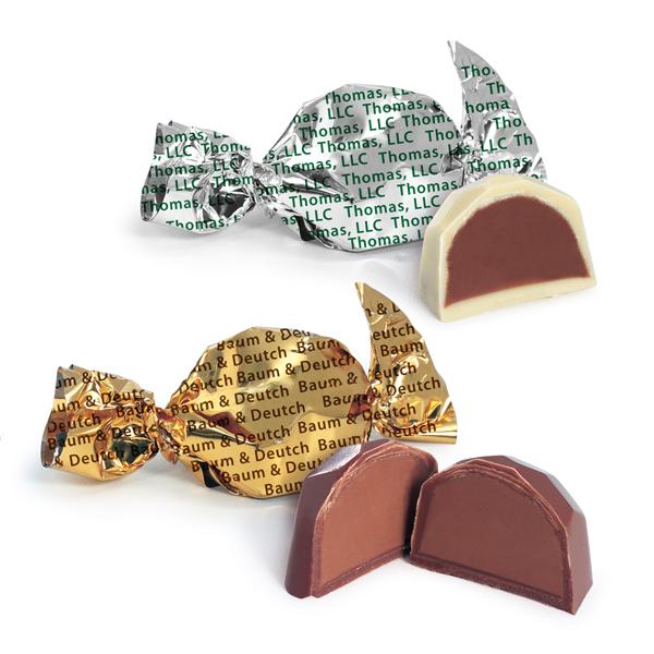Bulk Twist Wrapped Hazelnut Chocolate Truffles