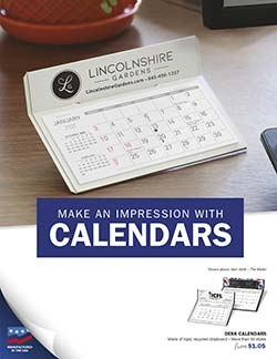 Promotional Calendar Lookbook from Warwick Publishing