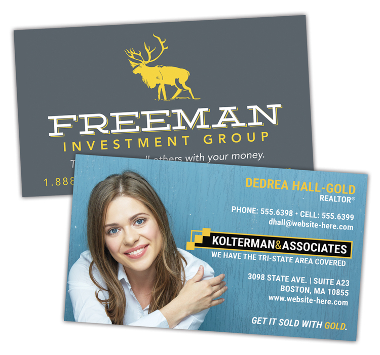 Extra-Thick UV-Coated (1S) Paper Business Card (3.5x2)