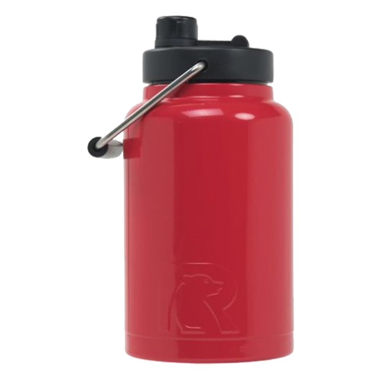 68f0af57e3 RTIC Half Gallon Red Stainless Steel Jug. # RS-HALFGRED-DC