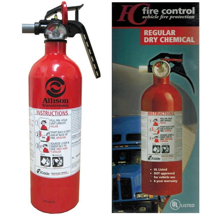 Commercial Vehicle Extinguisher
