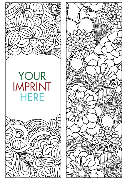 COLORING BOOKMARK - Nature Bookmark - BM-2100 | Ginn Advertising