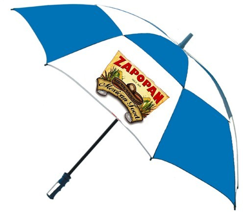 custom umbrellas logo full color 4color process print promotions corporate gifts