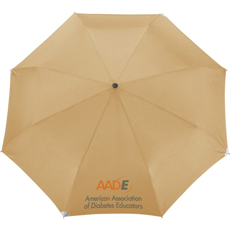 42 Inch Auto Open/Close Windproof Reflective Safety Umbrella CLEARANCE