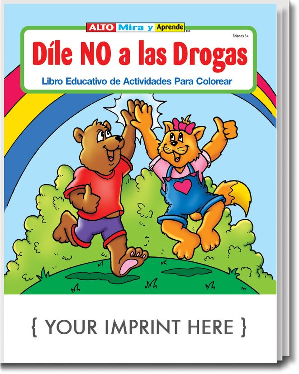 COLORING BOOK - Say No to Drugs (Spanish) Coloring and Activity Book ...