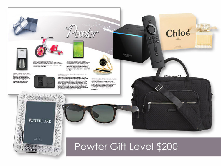 $200 Gift of Choice (Pewter Level) GoGreen eNumber