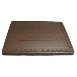 HAPPY HOLIDAYS CHOCOLATE BUSINESS CARD XLARGE