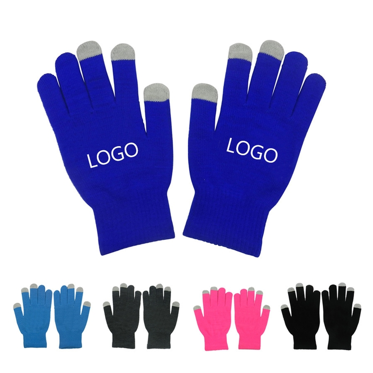 PJK12009 - Acrylic Texting GloveTouch screen acrylic fabric knitted glove with your logo imprint.
