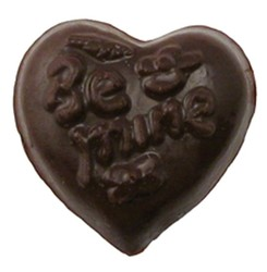 CHOCOLATE HEART SMALL BE MINE