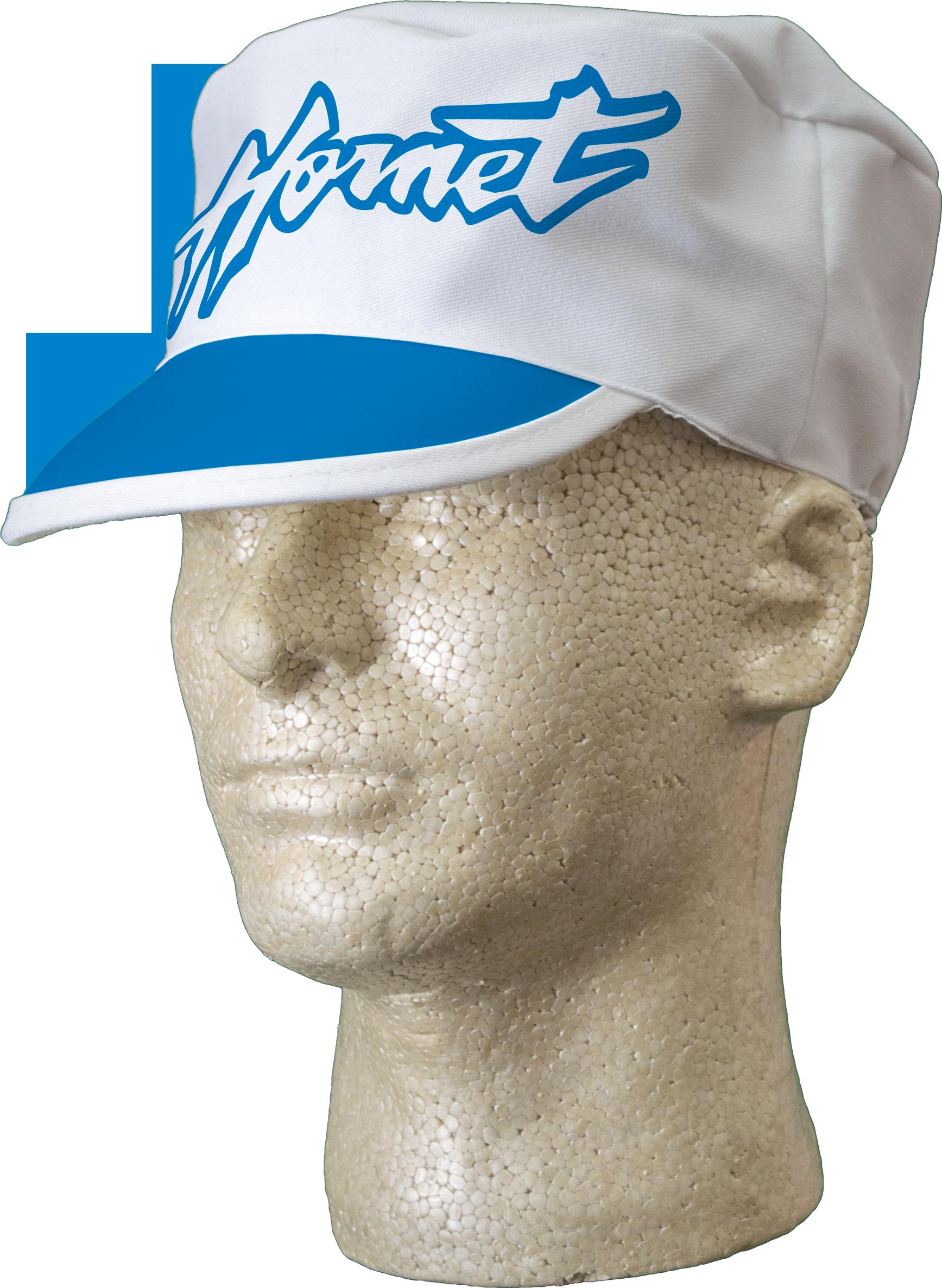 Poly-Cotton Twill Painter Cap with Color Cloth Visor Trim
