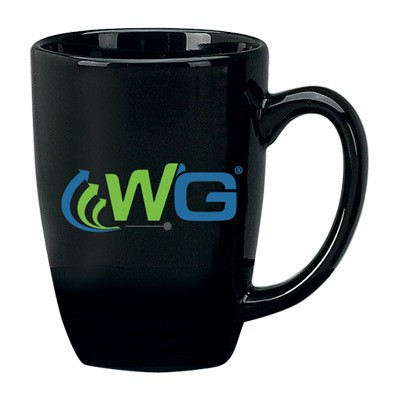 14 oz Houston Endeavor Customized Mug – Black