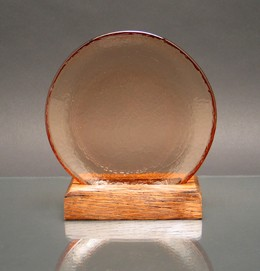 Incredible Circle Of Excellence Award Plate Copper W 100 Post Consumer Recycled Distressed Wood Ba Uwap Interior Chair Design Uwaporg