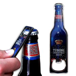 Custom Bottle Opener with Stock Bottle Shape
