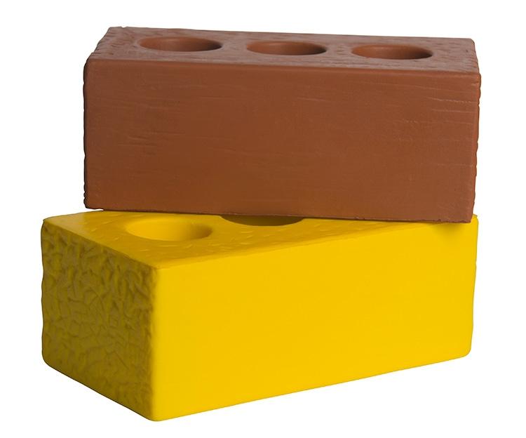 Brick Squeezies Stress Reliever