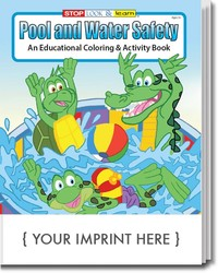 COLORING BOOK - Pool and Water Safety Coloring & Activity Book - Coloring Book