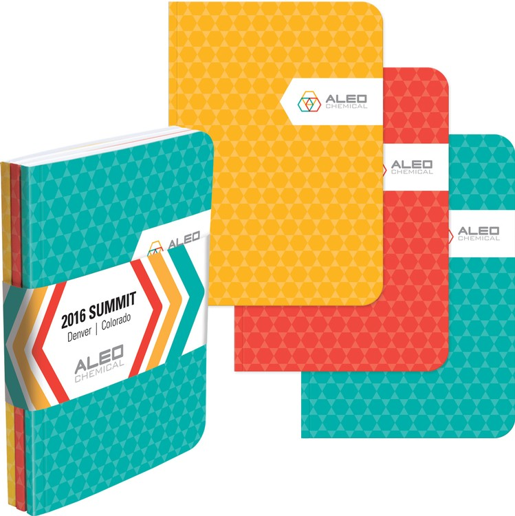 Color Tri Pac NotePads w/ Graphic Wrap - EQP Special Ends July 31st