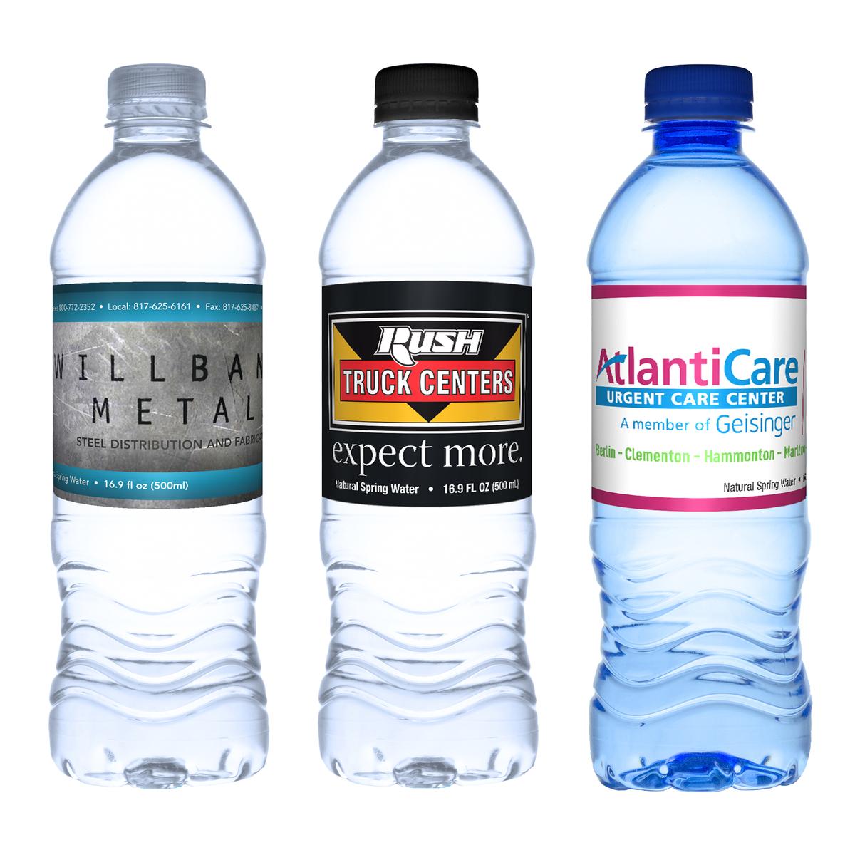 16.9 oz. Custom Label Water Bottle