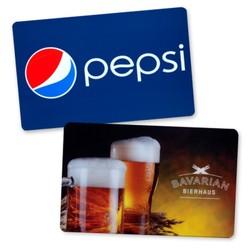 3.375 x 2.125 Custom Plastic Card