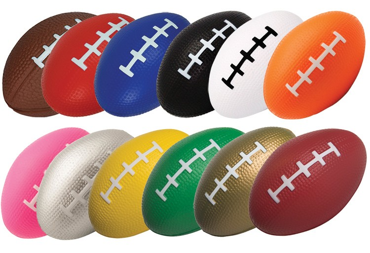 Football Squeezies Stress Reliever