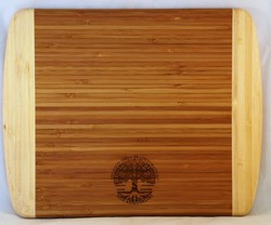 Bamboo cutting boards Laser engraved