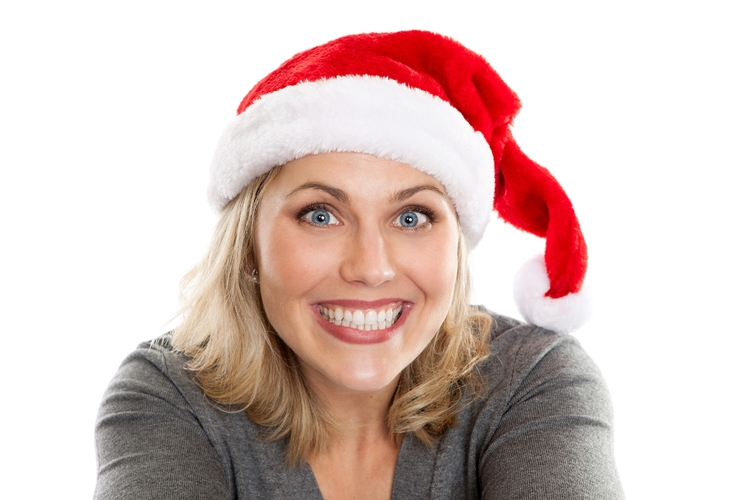 Santa Hat Our PLUSH LUXURY Santa Hats are the Best. Fully lined, Christmas Hat, Elf hat