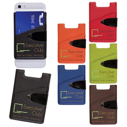 Cell Phone Card Holder >> Deluxe Cell Phone Card Holder
