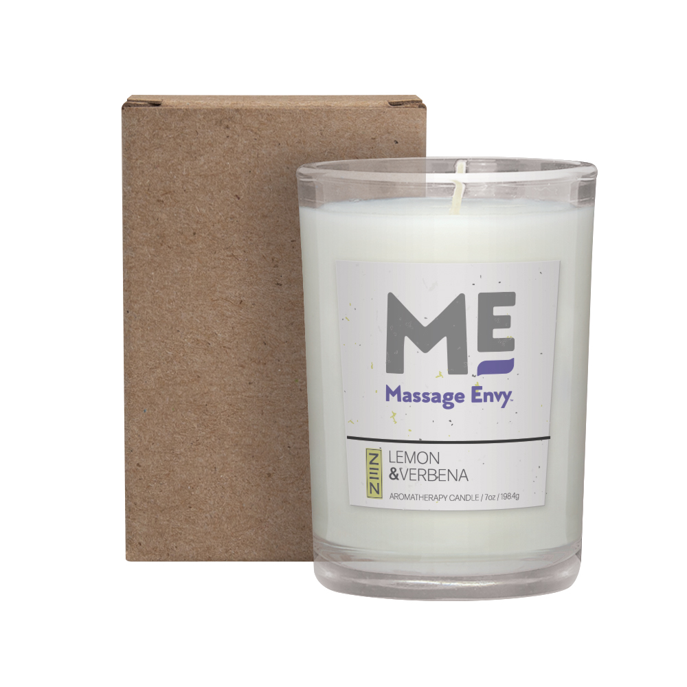 8 oz. Lemon Verbena Candle in a Cardboard Gift Box- Available Oct 1