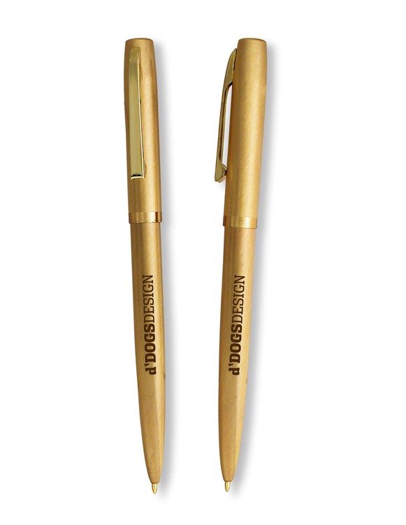 Gold Finger Retractable Pen