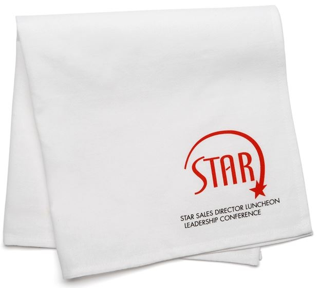 Cloth Napkins with logo included