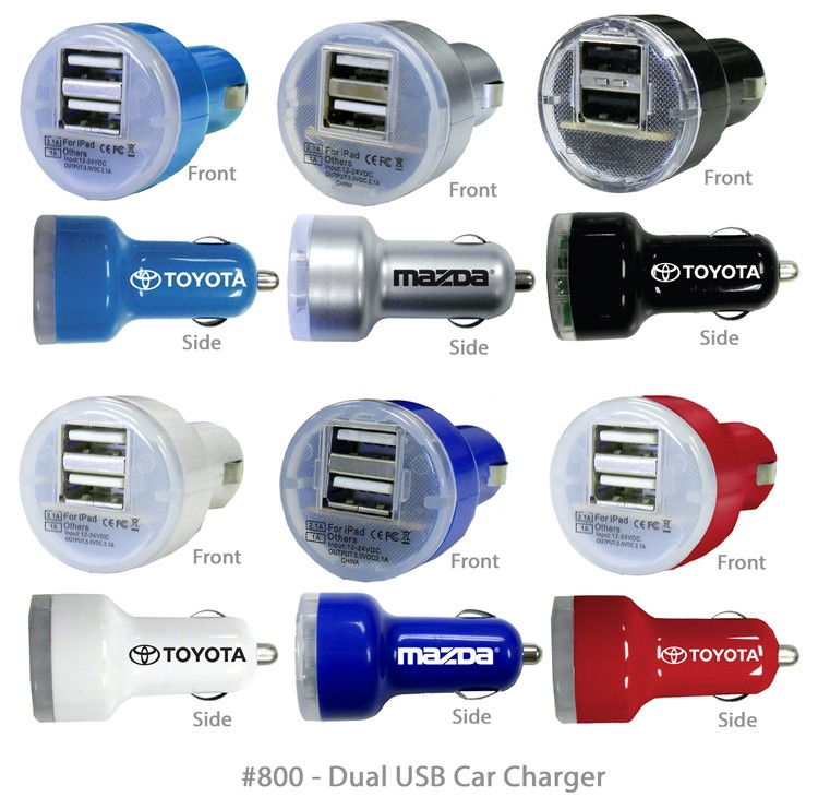 Superior USB Dual Port Car Charger
