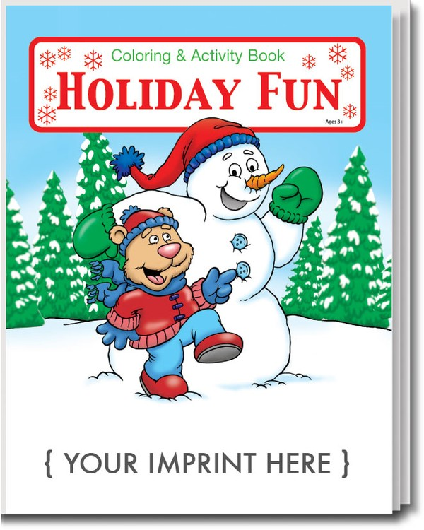 - COLORING BOOK - Holiday Fun Coloring & Activity Book - 0520 Coloring Book  Solutions