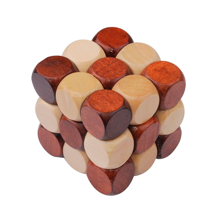 Ruby Wooden Puzzle