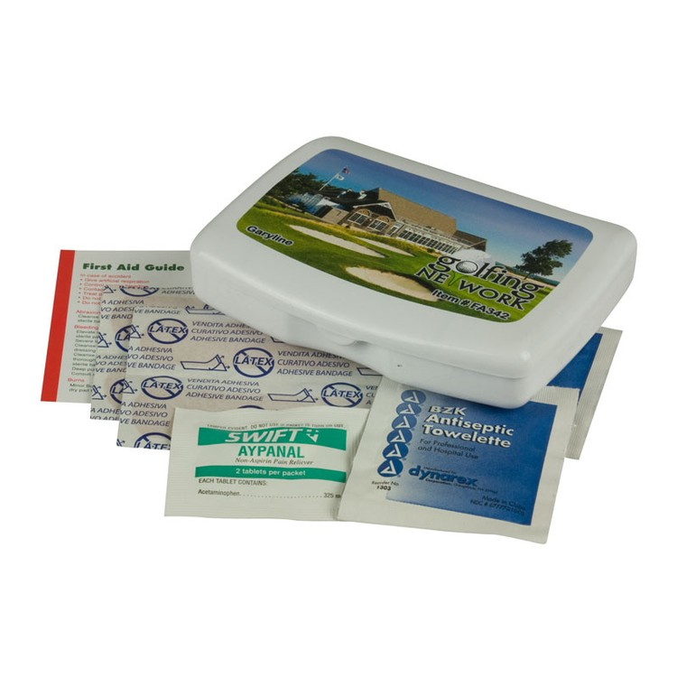 Express First Aid Kit With Digital Imprint