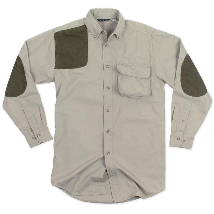 Men\'s Long Sleeve Canvas Sportsman Shooter Shirt