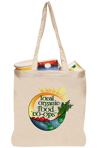 5 oz. Natural Cotton Tote Bag