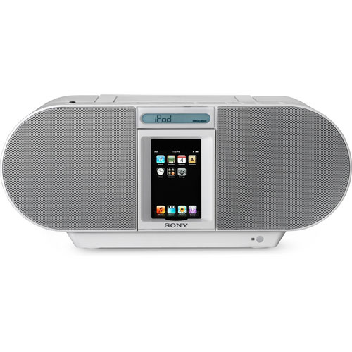 Sony Boombox w/CD Player iPod/iPhone Dock
