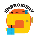embroidery logo image