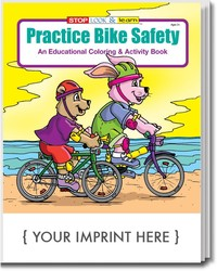 COLORING BOOK - Practice Bike Safety Coloring & Activity Book - Coloring Book