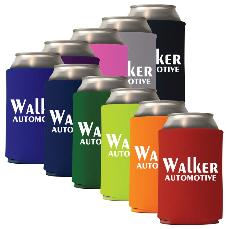 Mega Collapsible Can Coolie, Solid Colors