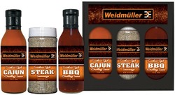 Wet/Dry Grilling Set (2x12oz - 1xPint)
