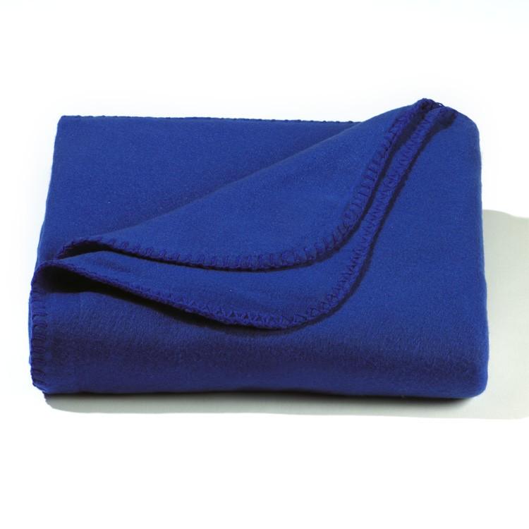 Royal Blue Value Fleece Throw Blanket