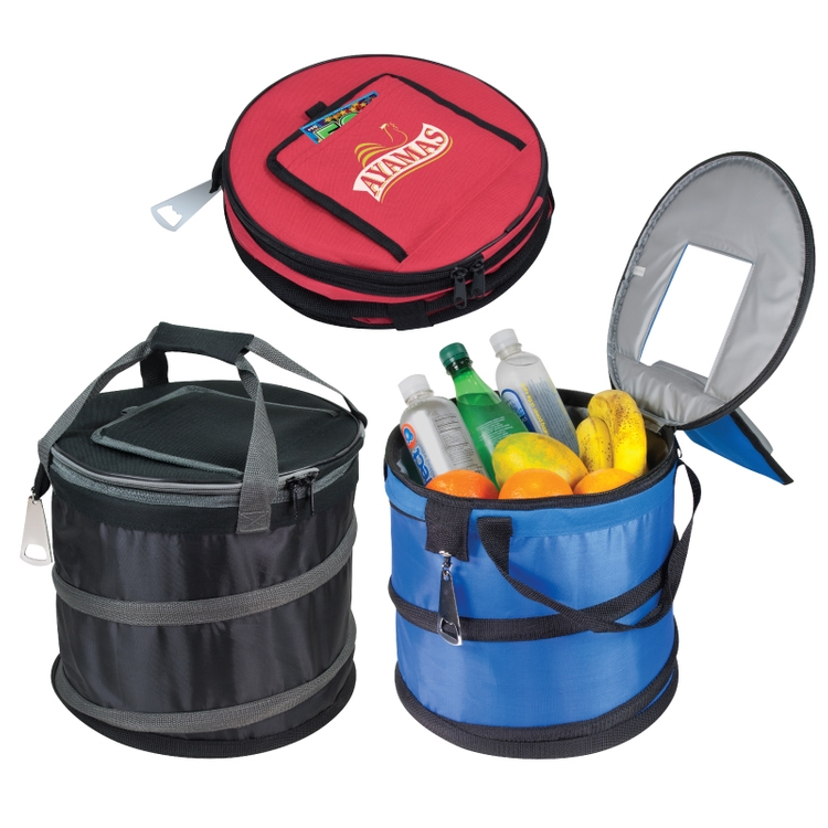 600D Polyester Jumbo Collapsible Cooler