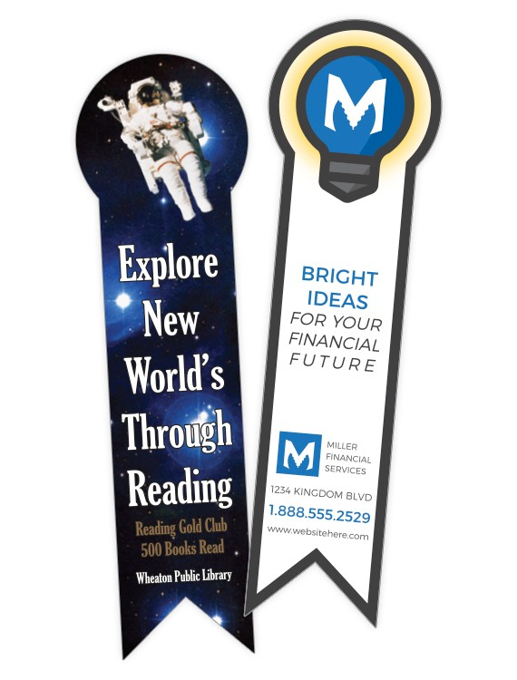 Bookmark - 2.125x7.5 UV-Coated (1S) Extra-Thick- 14 pt.