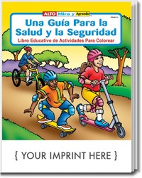 COLORING BOOK - A Guide to Health and Safety (Spanish) Coloring & Activity Book